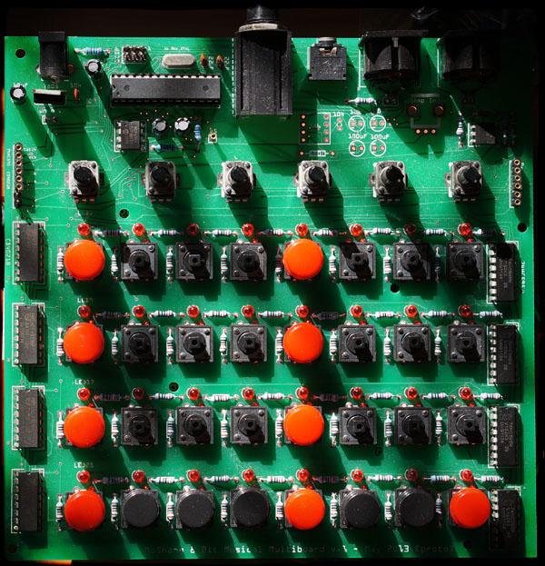 Multiboard - first version