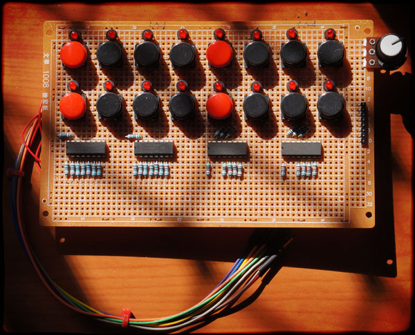 Perfboard prototype